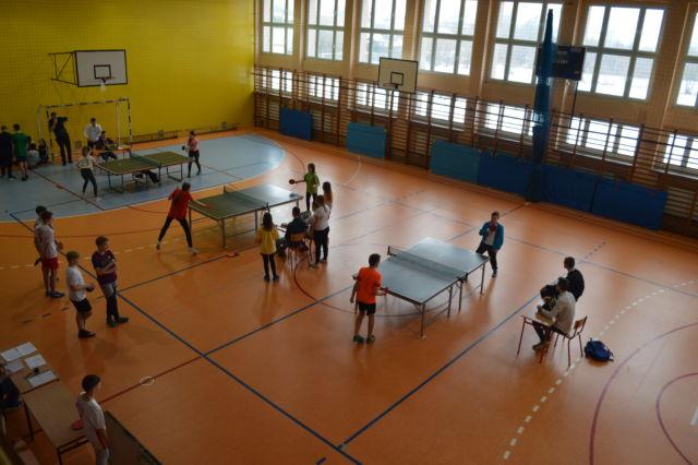 Turniej tenisa stołowego w Truskolasach